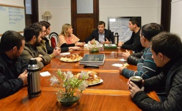 El Intendente mantuvo una reunión con los alumnos de Ingeniería