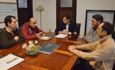 El intendente Eduardo Bucca se reunió con representantes de ATRAMUBO