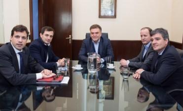 El intendente se reunió con el Secretario de Viviendas de la Nación