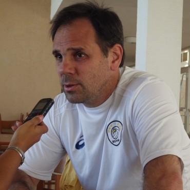 Weber visitó FM10 y contó cómo se prepara la próxima temporada de Personal Bolívar