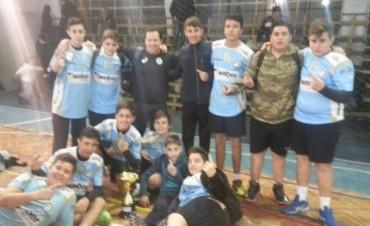 Vóley: El Club Ciudad con la Sub 15 consiguió el pasaje a la Copa Argentina