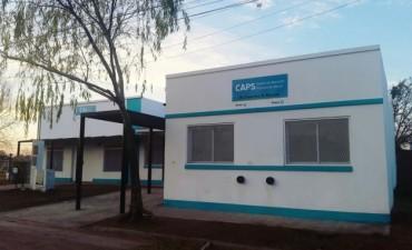 Este viernes se inaugura el CAPS de Los Zorzales