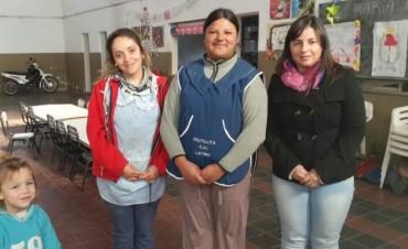 Se lanzó un taller de cocina para adultos en el CAI de Latino que se suma a los talleres para chicos