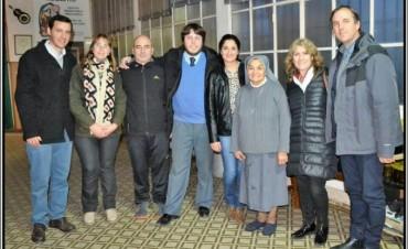 La Diputada Alejandra Lorden (UCR) visitó Bolívar