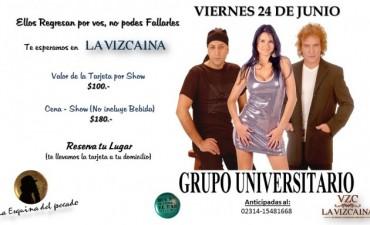 Hoy viernes: El Grupo Universitario se presenta en La VZC