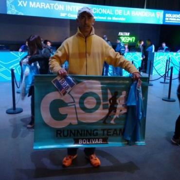 Maratón de Rosario: Bajo la lluvia se corrieron los 42K