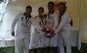 Pato: 'Los Baguales' se coronó con la 'Copa Nutremas' y 'Pipi' Alberti fue el mejor jugador