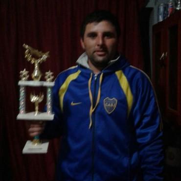 Sergio Aguilar: 'Fue una buena pesca la que realizamos en el concurso de costa'
