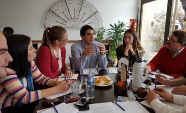 Bolívar participó de la reunión de la 'Zona de Crecimiento Común' en General Alvear