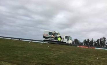RN5: Chocó la ambulancia de la Cooperativa y falleció una paciente que era trasladada