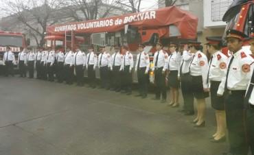 """2 DE JUNIO – Dia del Bombero Voluntario: """"Festejamos de la mejor manera, y con la gran noticia de que prontamente vamos a adquirir una autobomba 0KM"""""""