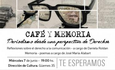 EN EL DÍA DEL PERIODISTA: Café y memoria desde una perspectiva de derechos