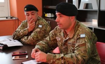 Se anunció la incorporación al Servicio Militar Voluntario en la guarnición Ejército Tandil