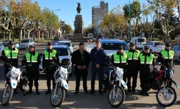 Se presentaron nuevos vehículos y equipamiento para Protección Ciudadana