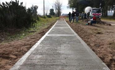 SEGURIDAD VIAL: Bucca presentó el inicio de la construcción de una bicisenda para la Escuela N°18