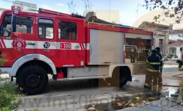 Partes de servicios diario Bomberos Voluntarios de Bolívar