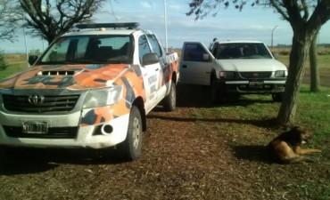 CPR: Moto y auto secuestrados e infracciones por caza furtiva