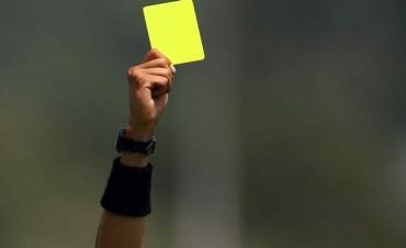 LPF: Jugadores bolivarenses con cuatro amarillas