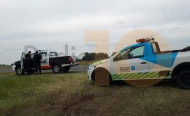 Accidente en ruta 205: Camión y auto