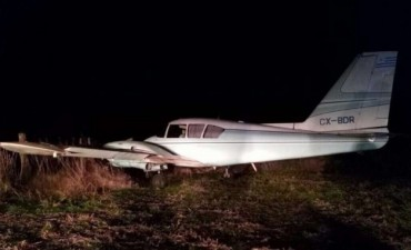 Derriban una avioneta narco en San Antonio de Areco: 300 kilos de droga y seis detenidos