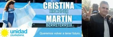 Martín Berreterreix se lanza como concejal en las filas de 'Unidad Ciudadana' en apoyo a CFK