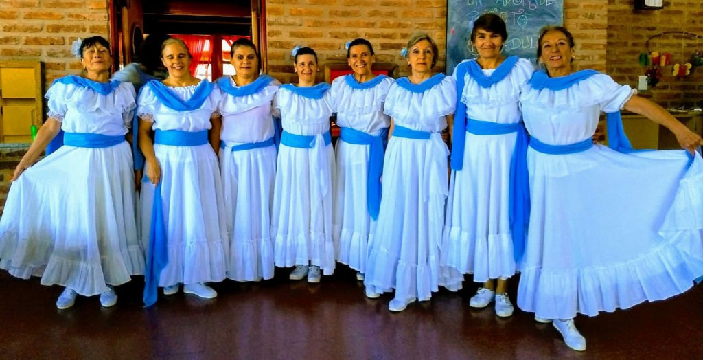 Mujeres Danza participaran de una peña en Saladillo