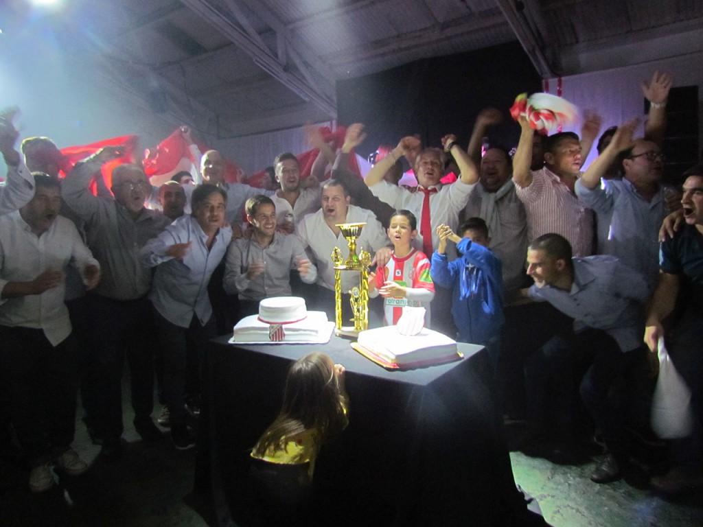 El Club Empleados festejó su centésimo aniversario