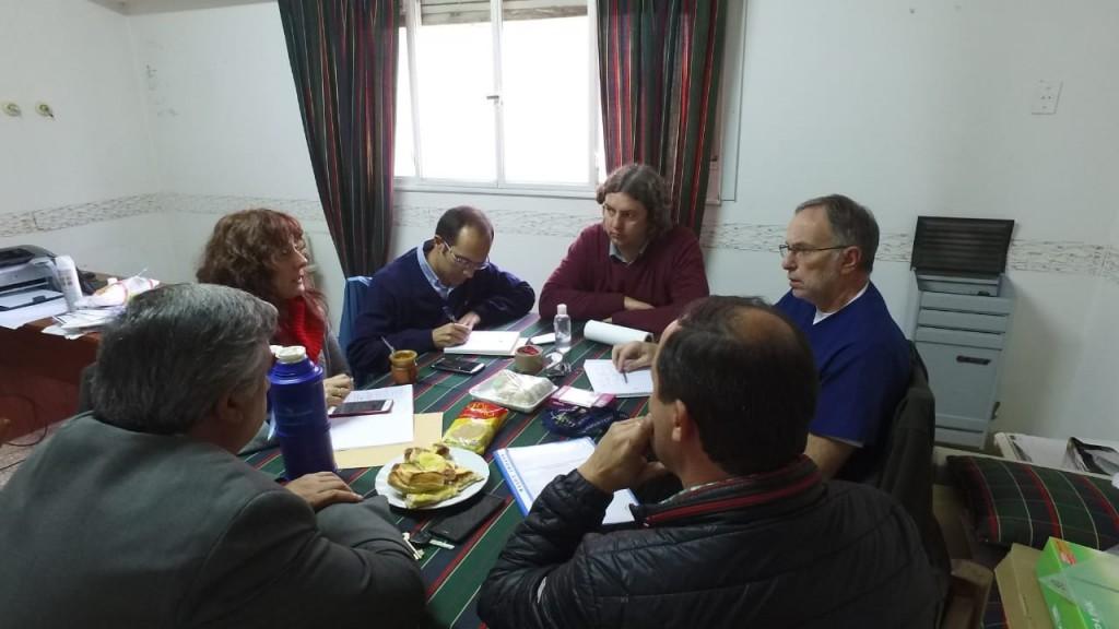 Pisano atendió a los vecinos en la delegación de Urdampilleta