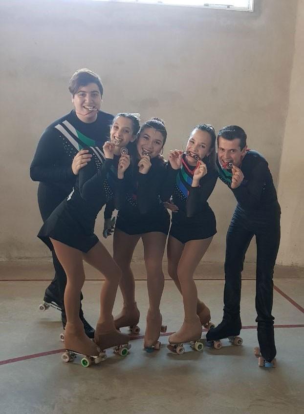 La escuela de Patín sueño sobre ruedas participó de un torneo provincial