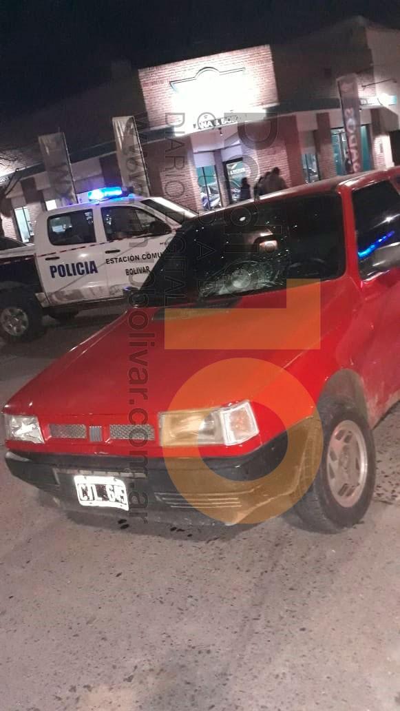 Accidente en San Martín y Rodríguez Peña: Un ciclista debió ser hospitalizado tras el impacto