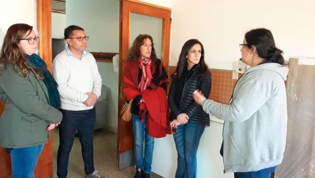 La directora de discapacidad se reunió con sus pares de Daireaux y Henderson