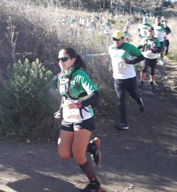 Atletismo: Marcela Prieto corrió los 21 km del Salomón en Tandil