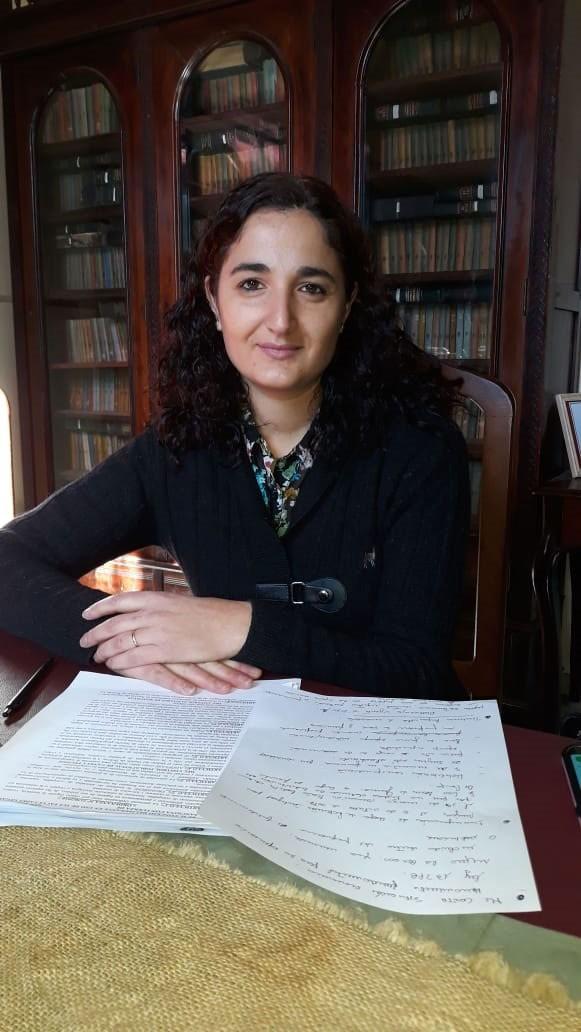 """María Emilia Palomino """"Queremos un comité activo, de puertas abiertas a la comunidad"""""""