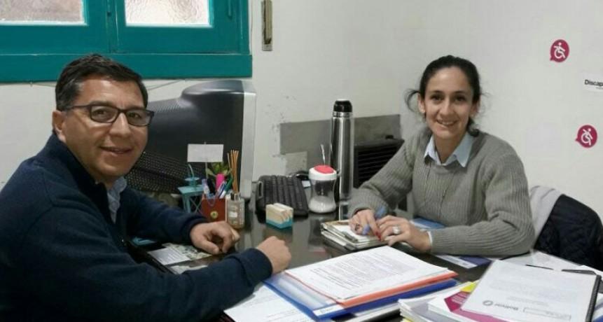 La directora de discapacidad recibió a su par de Daireaux