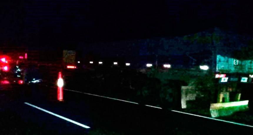 Se incendio un camión en la ruta 65, pero no hubo heridos