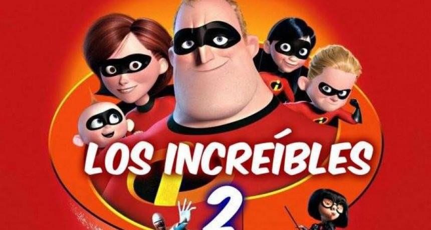 Llega al Cine Avenida, en estreno simultaneo, Los Increibles 2