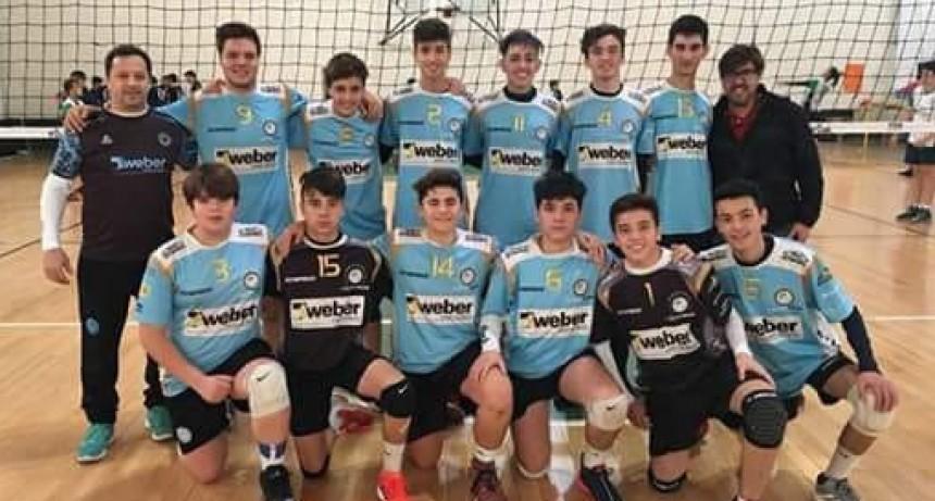 La sub15 de vóley del Club Ciudad salió campeón LiProVo