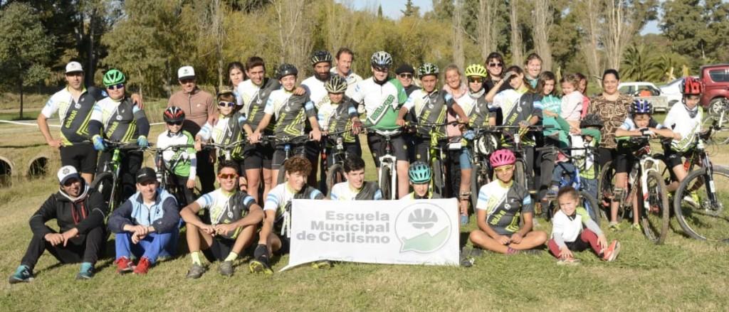 La Escuela Municipal de Ciclismo celebró Su 12° aniversario
