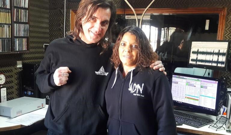 ADN Punk Rock presentó su material discográfico en La Radio