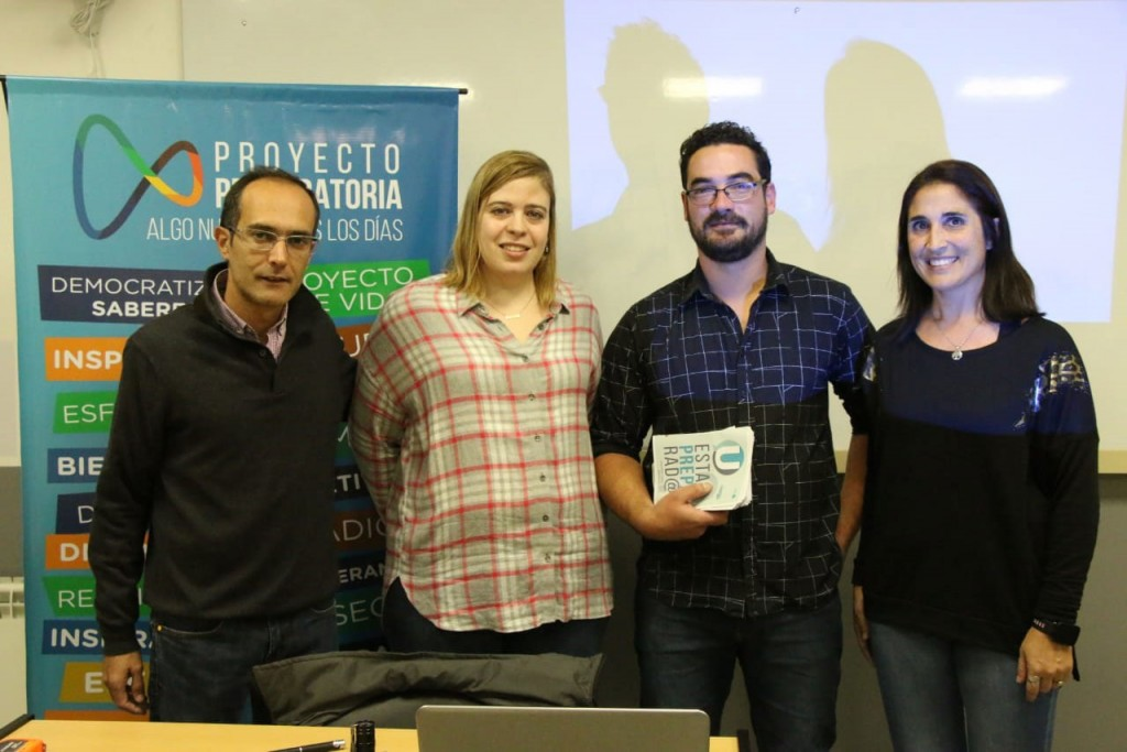 El Intendente Pisano recibió a la investigadora bolivarense María Victoria Waks Serra