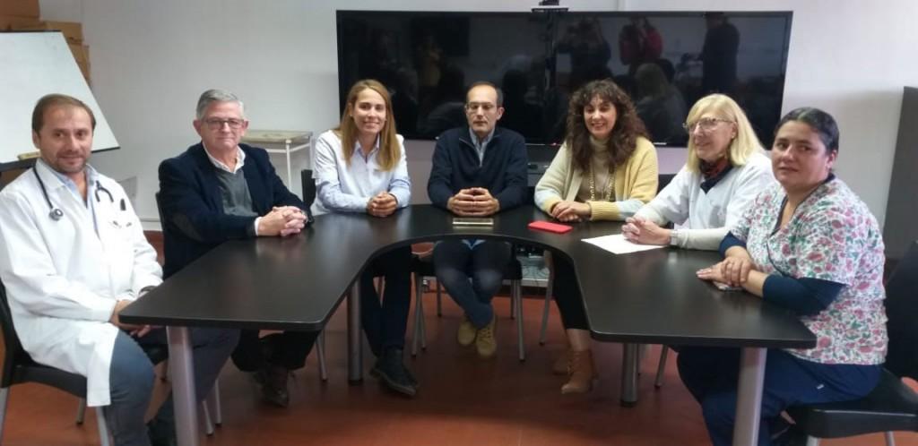 El Intendente Pisano presentó dos nuevos médicos
