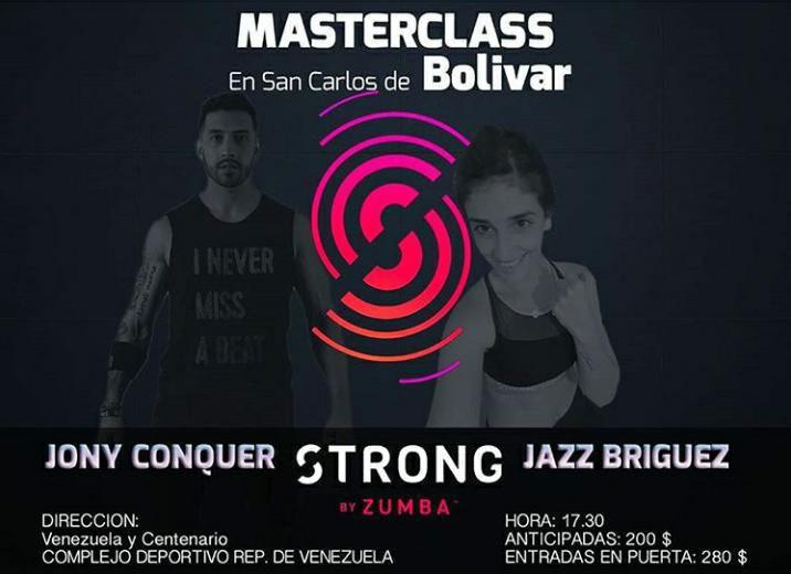 Master Class de Strong by Zumba en el Complejo República de Venezuela