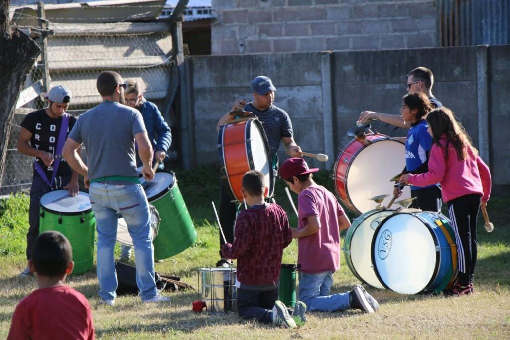 El Programa Municipal 'Bien Familia' llegó a Barrio Jardín
