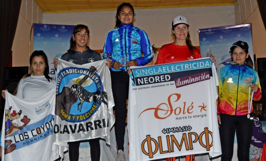 Antonella Albo se consagró en el maratón Recalde Corre organizado por Proyectar por los pueblos