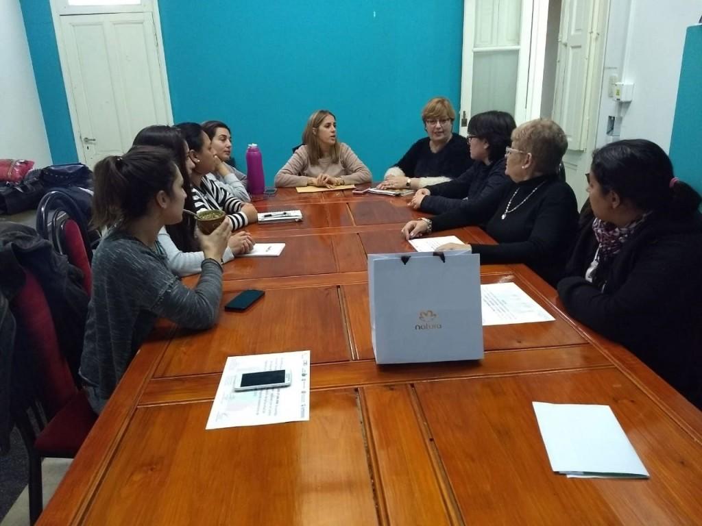 La secretaria de asuntos agrarios municipal se reunió con emprendedoras