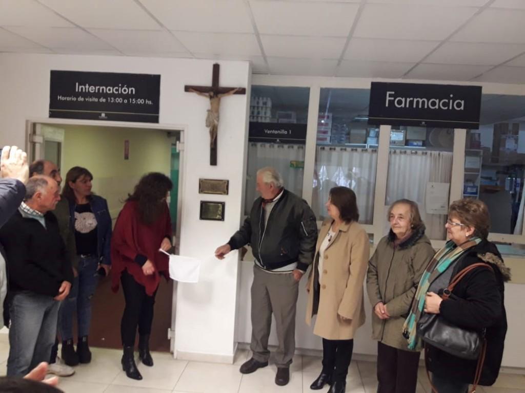 La cooperadora del Hospital Local reconoció a dos grandes benefactoras
