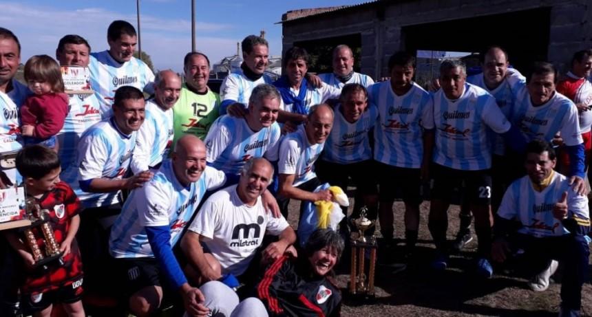 Argentino Juniors-SUEC es el nuevo campeón del Futbol Senior Mayores de 48 años