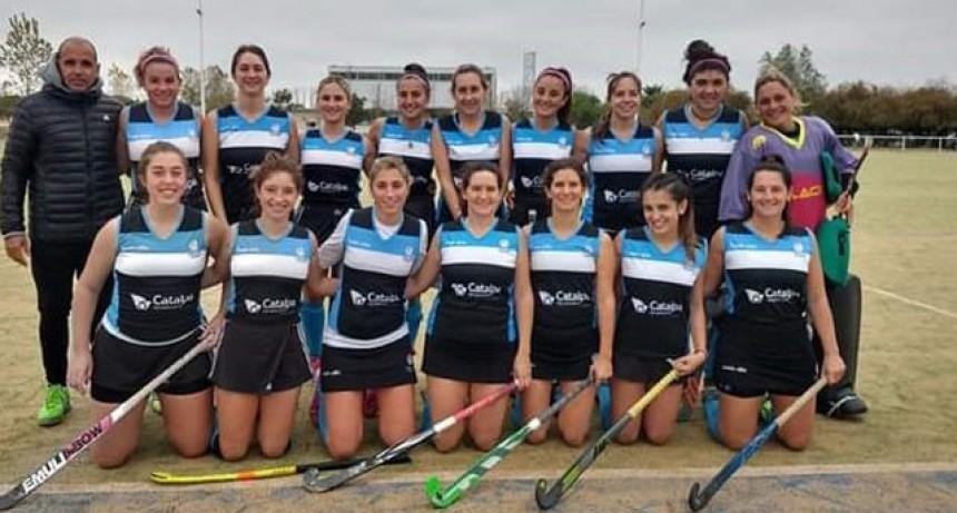 El hockey femenino del Club Ciudad tuvo actividad en condición de local