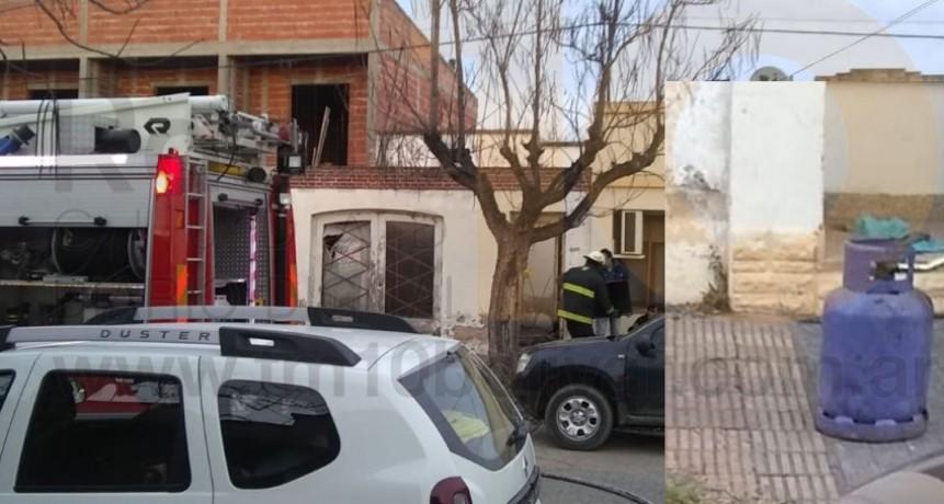 Principio de incendio en una vivienda alertó a los vecinos de calle Olascoaga