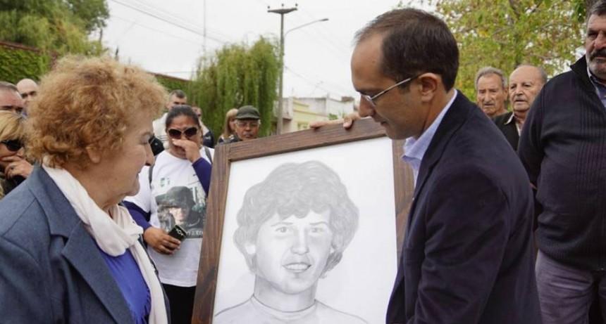 Bolívar rendirá homenaje al soldado caído en Malvinas José Horacio Echave